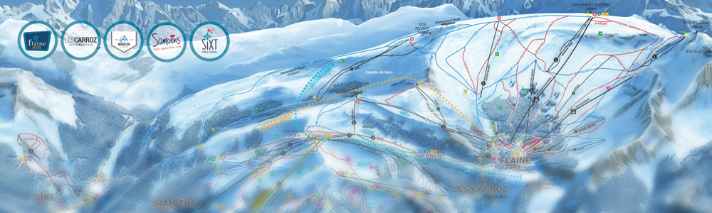 Samoens Ski pass pricing, Samoens lift pass, Flaine, Les Carroz ...